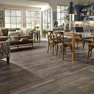 Laminate flooring in home